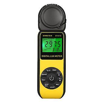 Testador de medida de luxômetro lux/fc luminômetro digital lux/fc luminometer