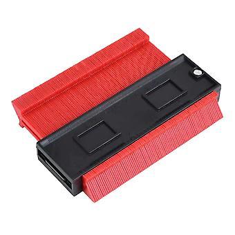 5 tuuman monitoiminen muovi ääriviivat mittari punainen
