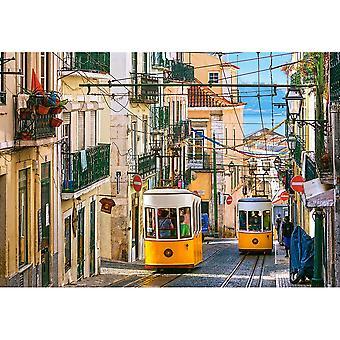 Castorland, Puzzle - Lisbon Trams - 1000 Pieces