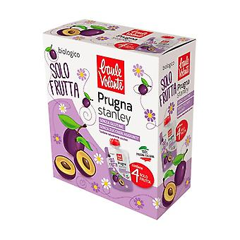 Stanley plum fruit only 4 units of 100g