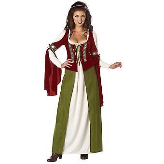 Maid Marian Marion Renaissance Medieval Women Costume