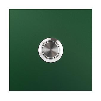 MOCAVI RING 110 Designklocka mossgrön (RAL 6005) kvadrat matt