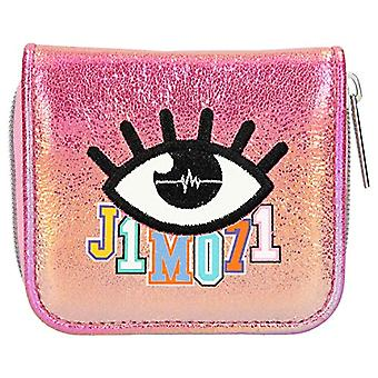 Depesche 10517 - Wallet with zipper and press button, Lisa and Lena J1MO71, color: Pink
