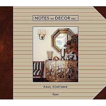Notes on Decor Etc