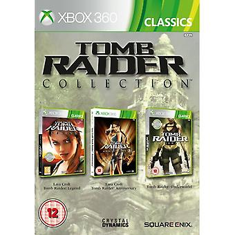 Tomb Raider Legend & Anniversary & Underworld Collection (Klassiker) Spel Xbox 360
