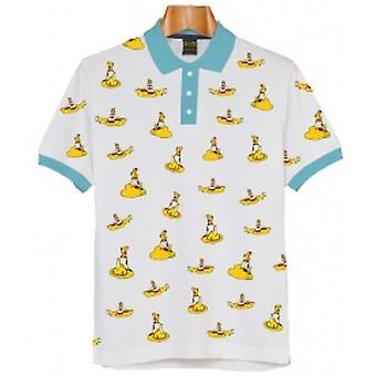 Beatles Gule SubMarines Polo Skjorte: Medium