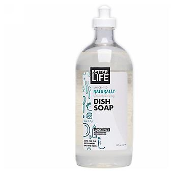 Better Life Natural Liquid Dish Soap Dish It Out, Unscented 22 oz