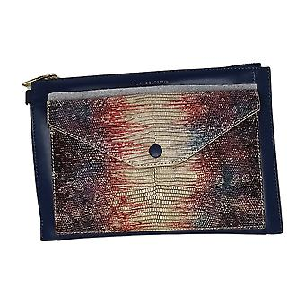 LOGO by Lori Goldstein Envelope Pouch With RFID Blue A287184