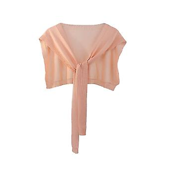 Avtakbar bluse is silke falsk krage blonder broderi falsk krage sugur rosa