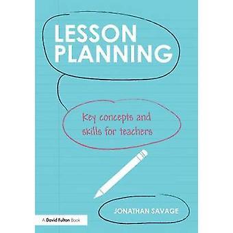 Lektion planering av Jonathan Savage