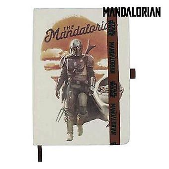Notepad The Mandalorian Beige A5