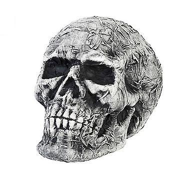 Skull (34 x 27 x 25 cm) Grey
