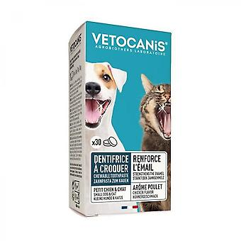 Vetocanis Plak Fighter Toothpaste With Croq 30comp