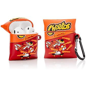 Silikonikotelo yhteensopiva Airpods 1&2 (Cheetos)(Cheetos)