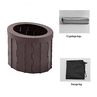 Car Camping Portable Adult Toilet Folding Potty Seat