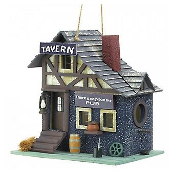 Songbird Valley Old-Fashioned Tavern Bird House, Pack of 1