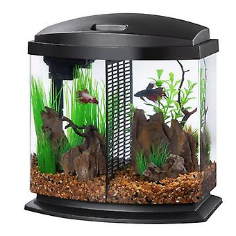 Aqueon LED BettaBow 2.5 SmartClean Aquarium Kit Black - 2.5 gallon