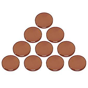 Aides à la mise au point 10pcs 18mm dia 50.8mm fl brun haute transmittance co2 znse focal len ppm-843