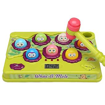 Pretend professions role playing electric whac a mole toys play hit hammering game table game toy |gags practical jokes