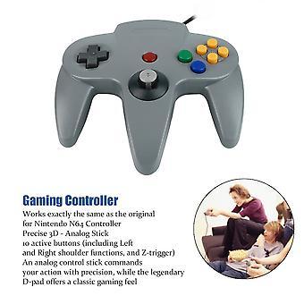 1x ידית ארוכה בקר גיימינג כרית ג'ויסטיק עבור מערכת N64 נינטנדו