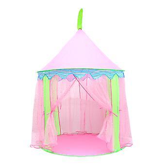 女の子プリンセス城遊ぶテント妖精城テントプレイハウス子供たち屋外おもちゃ