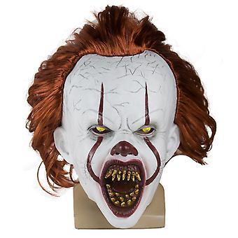 Stephen King Det Mask Pennywise Klovn Joker Mask Cosplay Halloween