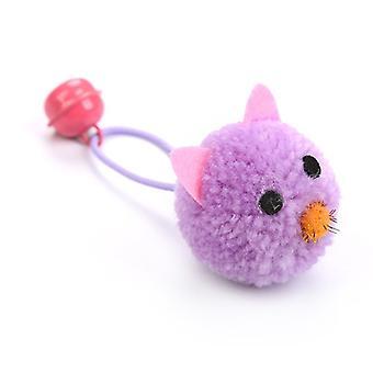 Katze Plüsch Spielzeug Maus Kopf Form Glocken Katze Spielzeug Katzenminze Plüsch Maus Kätzchen Spielzeug Mini Fake Maus