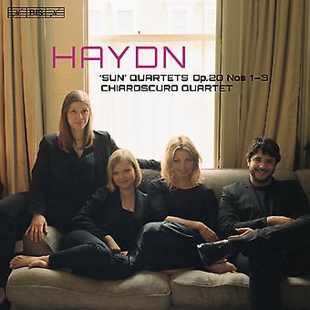 Haydn / Chiaroscuro Quartet - Haydn: Sun Quartets Op. 20 Nos. 1-3 [SACD] USA import