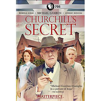 Masterpiece: Churchill's Secret [DVD] USA import