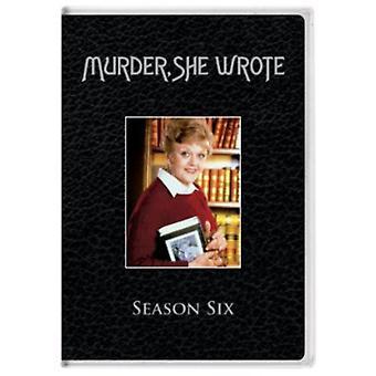 Murder She Wrote: Season 6 [DVD] USA import