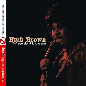 Ruth Brown - You Don't Know Me [CD] USA importeren