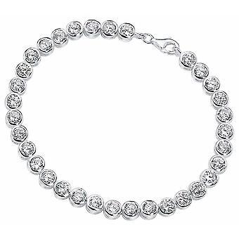 Zirconia argento 925 Bracciale