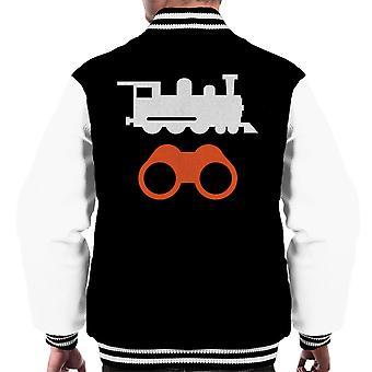 Trainspotting T2 szimbólumok férfiak ' s Varsity Jacket