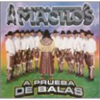 Banda Machos - Prueba De Balas [CD] USA import