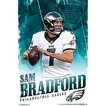 Philadelphia Eagles - Sam Bradford 15 Poster Poster Print