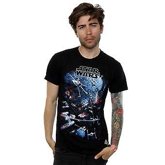 Star Wars Men's Universe Battle T-Shirt