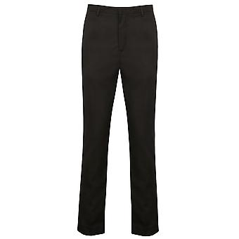 Henbury Mens Tapered pantalon jambe