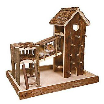 Trixie Birger Playground Natural Living 36x33 x26 Cm. (Small pets , Toys)