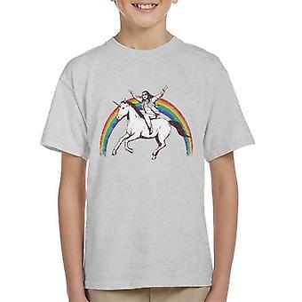 X Treme yksisarvinen Ride Lasten t-paita