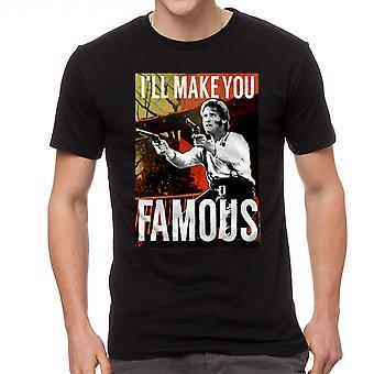 Young Guns Famous Men's Black T-shirt