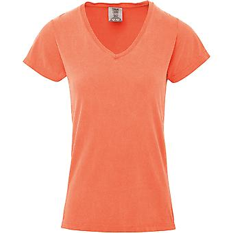 Comfort Colors Womens/Ladies V Neck Tee