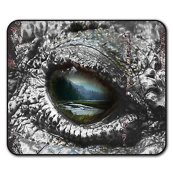 Aligator Auge Wilde Maus Anti-Rutsch Matte Pad 24 x 20 cm | Wellcoda