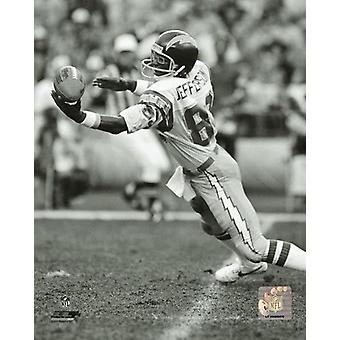 John Jefferson 1980 Action Photo Print