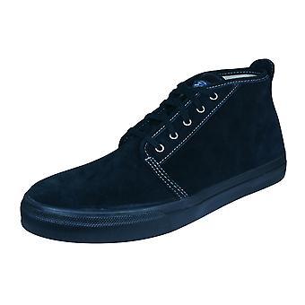 Sperry Cloud CVO Chukka Mens daim bottes / chaussures - noir