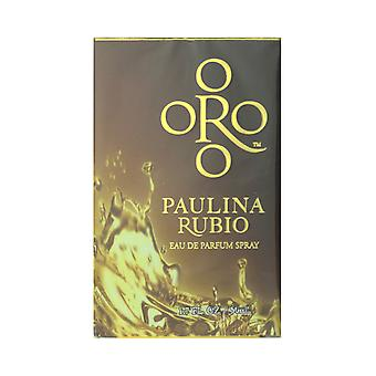 Paulina Rubio ORO Eau de Parfum Spray 1,7 Oz/50 ml neu In Box
