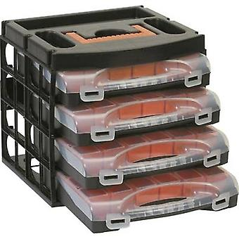 Alutec Assortment case set (L x W x H) 322 x 279 x 297 mm No. of compartments: 16 variable compartments 1 pc(s)
