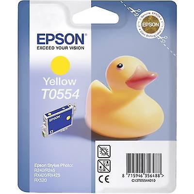 Epson inkt T0554 oorspronkelijke gele C13T05544010