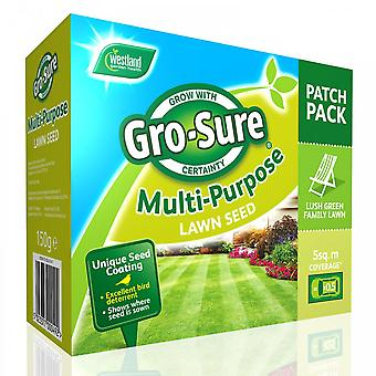 Westland Multi Purpose Lawn Seed Patch Pack 150g***