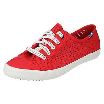 Ladies Keds Canvas Shoes Celeb Perf CVS