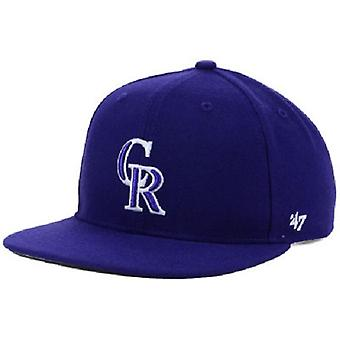 Colorado Rockies MLB 47 enfants capitaine Snapback chapeau